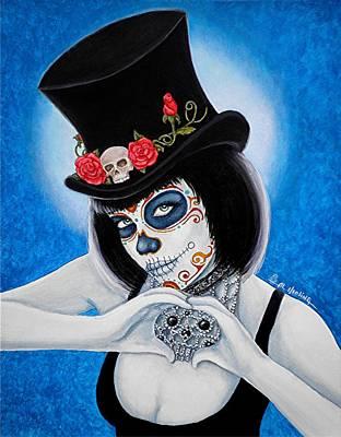 Bella Muerte Loves You Poster by Al  Molina