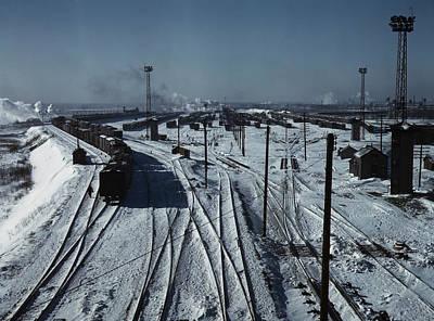 Belt Railway, Looking Toward The West Poster by Stocktrek Images