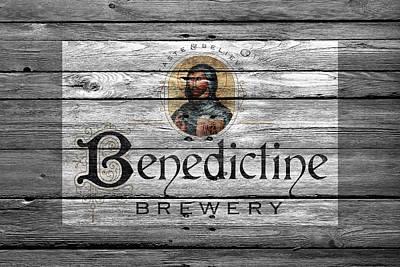Benedictine Brewery Poster by Joe Hamilton
