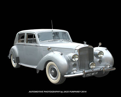 1952 Bentley Elegance  Poster by Jack Pumphrey