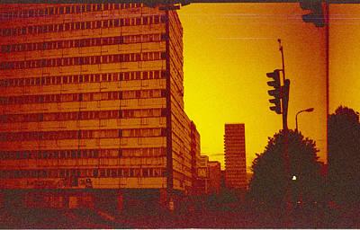 Berlin Street Ddr Poster by Juan  Bosco
