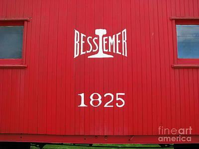 Bessemer Train Poster by Michael Krek