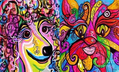 Best Friends Poster by Eloise Schneider