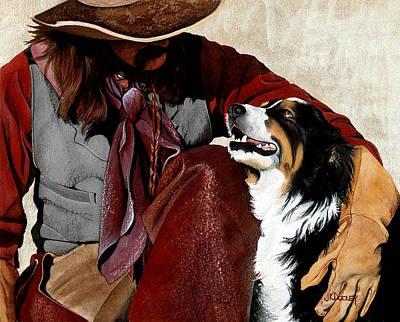 Best Friends Poster by JK Dooley