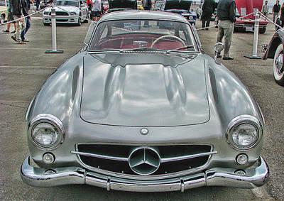 Best In Show Mercedes Benz 300sl Gullwing Poster by Samuel Sheats