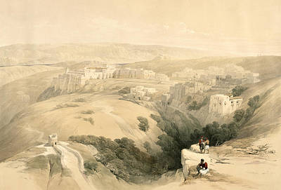Bethlehem, April 6th 1839, Plate 85 Poster by David Roberts