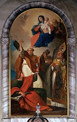 Bevilacqua Giovanni Carlo, St Andrew Poster by Everett
