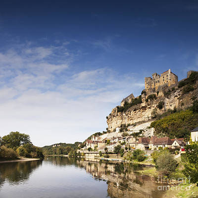 Beynac Et Cazenac Limousin France Poster by Colin and Linda McKie