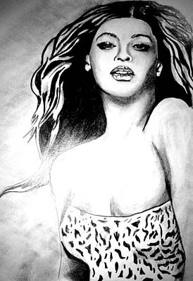 Beyonce Poster by Pauline Murphy