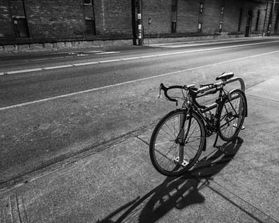 Lone Bicycle Poster by Kyle Wasielewski