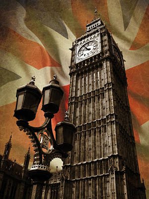 Big Ben London Poster by Mark Rogan