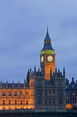 Big Ben London Poster by Matthew Gibson