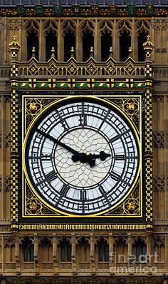 Big Ben Portrait Poster by James Brunker