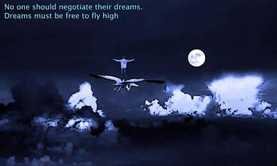 Big Dreams Poster by Manjot Singh Sachdeva