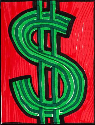 Big Money Poster by Rick Stecz