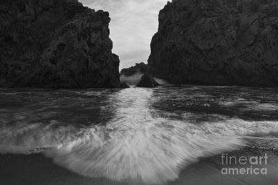 Big Sur Seascape Poster by Keith Kapple