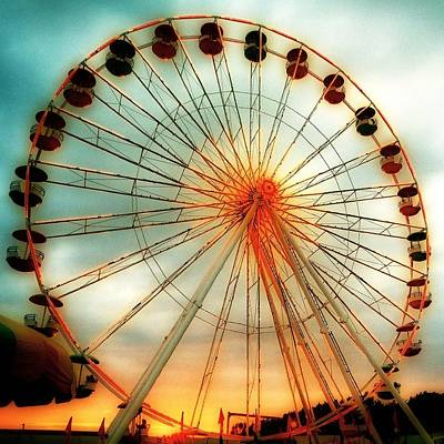 Big Wheel Poster by Gothicolors Donna Snyder