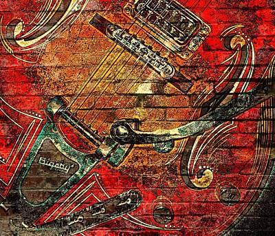 Bigsby Faux Mural Poster by Chris Berry