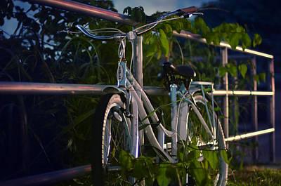 Bike Noir Poster by Laura Fasulo