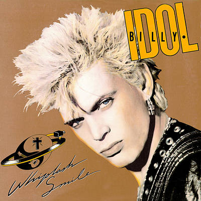 Billy Idol - Whiplash Smile 1986 Poster by Epic Rights