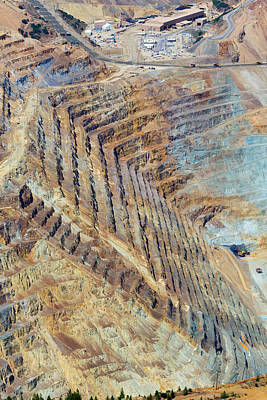Bingham Canyon Copper Mine Poster by Jim West