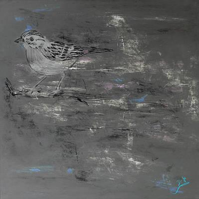 Bird Poster by Galia Nof Taboch