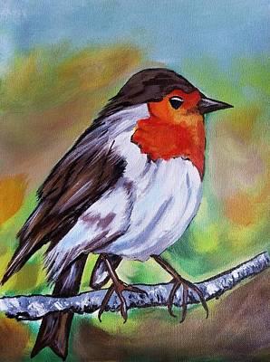 Bird Poster by Jyoti Vats
