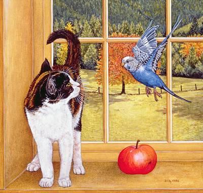 Bird Watching Poster by Ditz