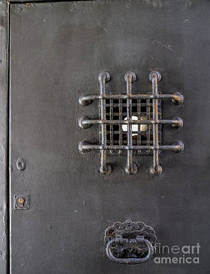 Bishop's Door Poster by Gillian Singleton