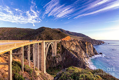 Bixby Bridge Poster by Jerry Fornarotto