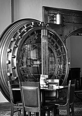 Black And White Vault Poster by Image Takers Photography LLC - Laura Morgan