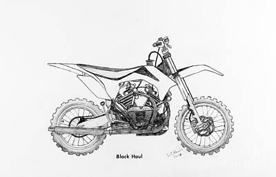 Black Haul Poster by Stephen Brooks