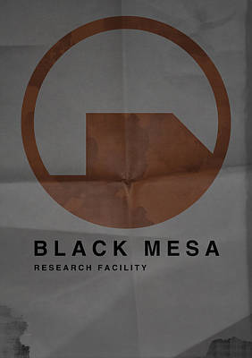 Black Mesa Poster by Ryan Swannick