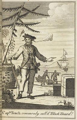 Blackbeard Poster by British Library