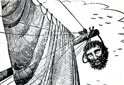 Blackbeard Edward Teach English Pirate Poster by Photo Researchers