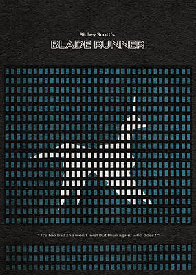 Blade Runner Poster by Ayse Deniz