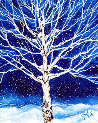 Blanket Of Stillness Poster by Jackie Carpenter