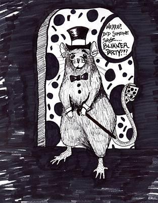 Blinner Party Poster by Michelle Kinzler