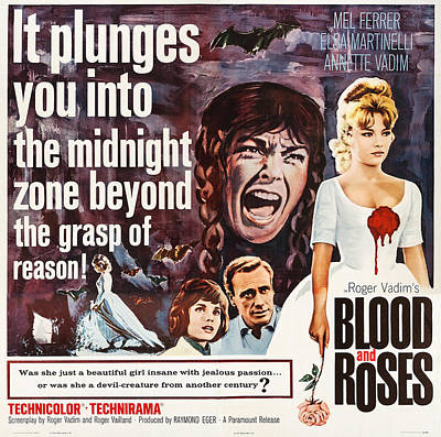 Blood And Roses, Us Poster Art Poster by Everett