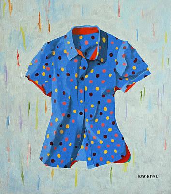 Polka-dot Dots Poster by Donald Amorosa