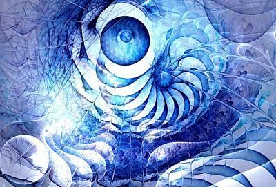 Blue Dream Poster by Anastasiya Malakhova