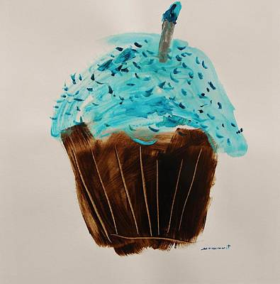 Blue Flame  Blue Jimmies Poster by John Williams