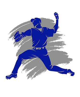 Blue Jays Shadow Player2 Poster by Joe Hamilton