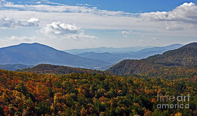 Blue Ridge Mountains Poster by Lydia Holly
