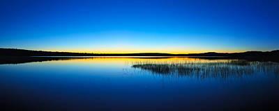 Blue Twilight Panorama Poster by Bill Caldwell -        ABeautifulSky Photography
