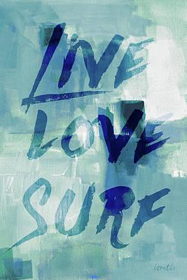 Blue Waves II Poster by Lanie Loreth