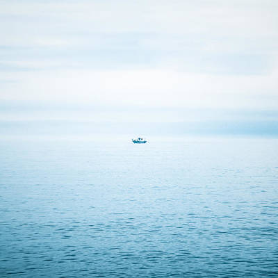 Fishing Boat  Poster by Tetyana Kokhanets