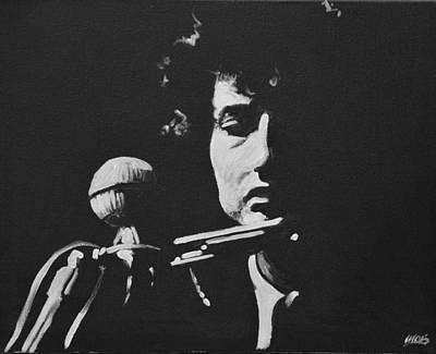 Bob Dylan Poster by Melissa O'Brien