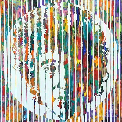 Bob Dylan Poster by Sean Ward