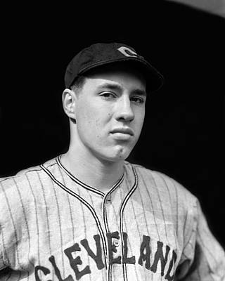 Bob Feller Looking Into Camera Poster by Retro Images Archive